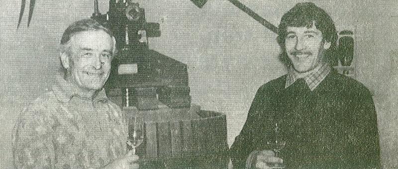 Histoire des Domaines Landron - Jo Landron et son père Pierre Landron